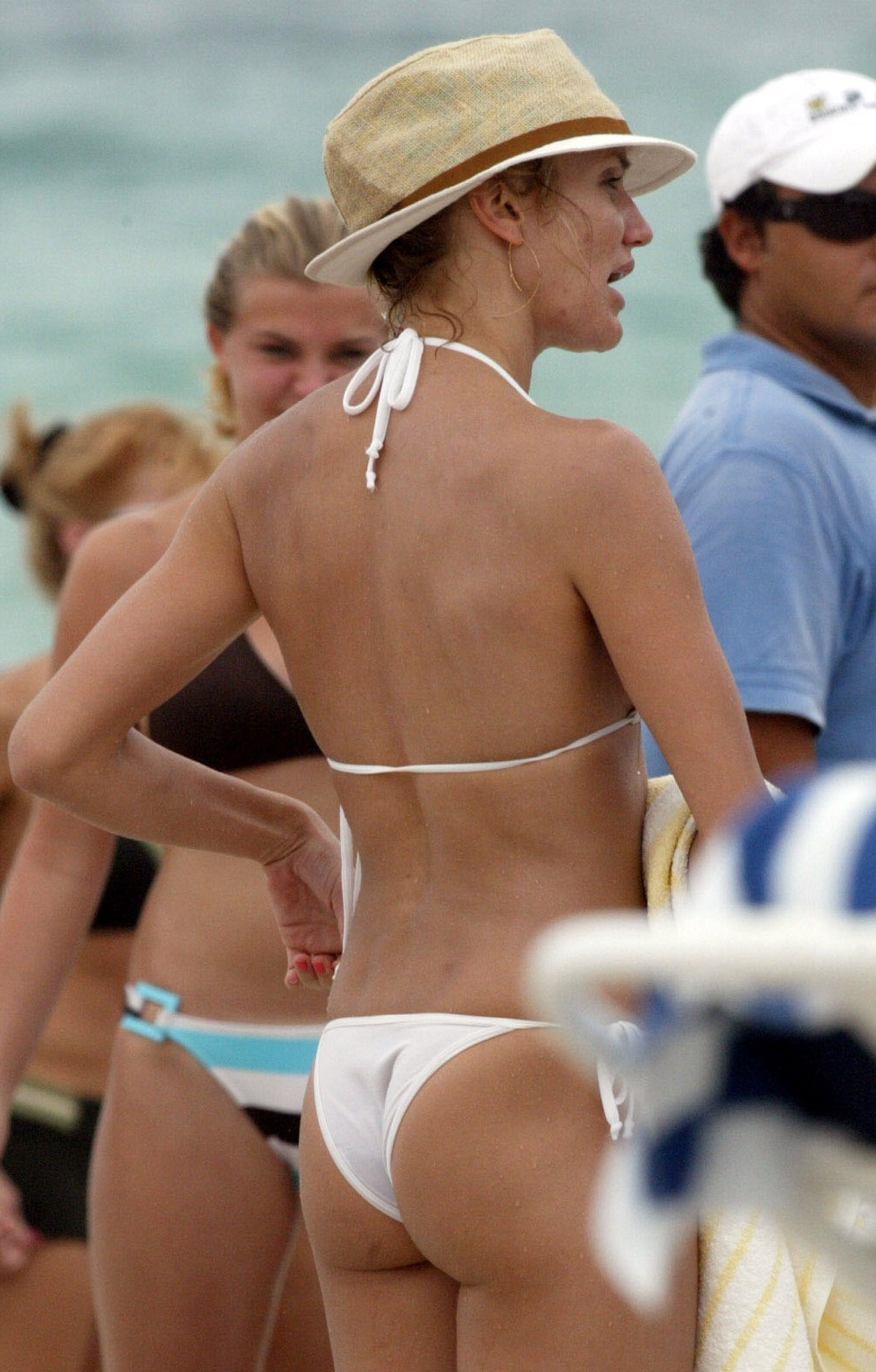 Assured, what Cameron diaz see through bikini